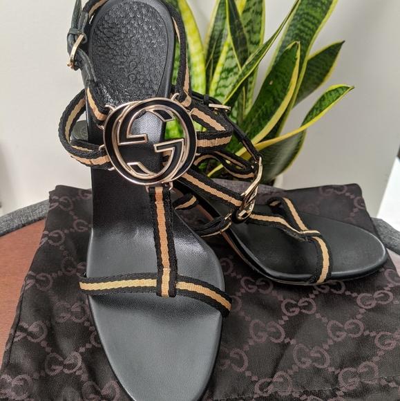 Gucci heels 6.5